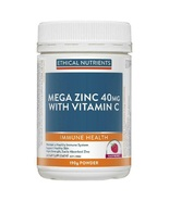 Ethical Nutrients Mega Zinc Powder 40mg (Raspberry) 190g - $80.20