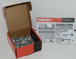 Hilti 433047 KwikCon II PLUS 1/4  x 1 1/4 in. Phillips Flat Head Screws 100pcs image 1
