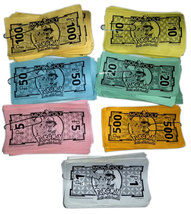 Monopoly Pokemon Board Game Replacement Pieces - (193) Bills / Money - $4.88