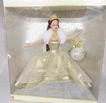 Barbie Celebration Teresa Special 2000 Edition Gold Dress Millennium Orn... - $12.86
