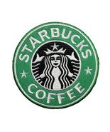 """Starbucks Coffee Logo Embroidered Iron On Patch 3"""" - $7.87"""