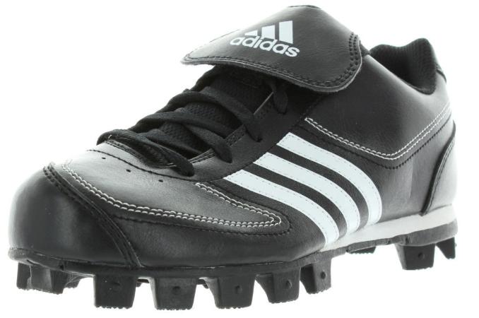 Adidas Tater 3 Size 5.5 M Medium (Y) Youth Kids Baseball Cleat Black G07046 - $10.74