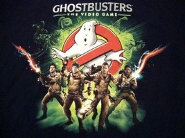 Ghostbusters The Video Game Funny Mystery Movie Funny PC Computer T Shir... - $14.84
