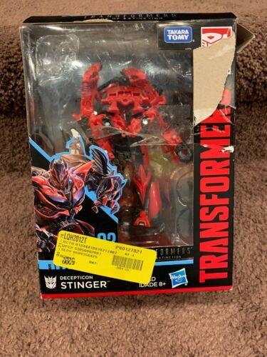 "Age of Extinction Studio Series SS02 Stinger Action Figure 5"" Toy Missing Head"