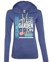 Keep Calm And Garden On T Shirt, I Love Gardening T Shirt (Anvil Ladies Ringspun - $37.99+