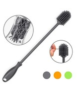 "Silicone Bottle Cleaning Brush with Long Handle, BPA Free 12.5"" Water Bo... - $12.54"