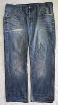 Rock & Republic Distressed Jeans Torn Worn 38 x 32 Holes  - $17.80