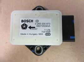 OEM 2012-2013 Fiat 500 Pop Bosh Yaw Turn Rate Sensor 0265005873 - $19.79