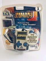 New Sealed Jeopardy Plug and Play Electronic TV Game Rated E Quiz Game Video - $23.64