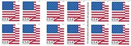 USPS U.S. Flag Forever Stamps - Booklet of 20 - 2018 Version - $19.77