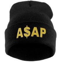 New Brand 2016 Fashion Print ASAP Hip Hop Winter Knit Hats for Women Men... - £8.55 GBP