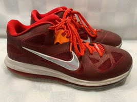 Nike LEBRON 9 IX Cherry Basketball Shoes Men's Size 10.5 Red 510811-600 - $48.50