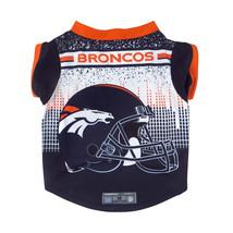 Denver Broncos Pet Performance Tee Shirt Size L**Free Shipping** - $25.40