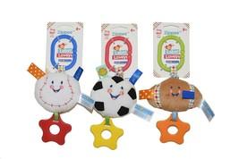Kids Preferred Zippees Label Loveys Plush Toys, Baseball -Pack of 3 - $12.86