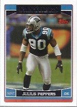 Julius Peppers - 2006 Topps #72 - $1.24