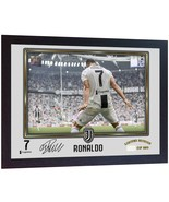 NEW Cristiano Ronaldo Juventus signed photo autographed ronaldo juve Framed - $21.86