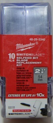 Milwaukee SwitchBlade Selfeed Bit Blade Replacement Kit