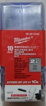 Milwaukee SwitchBlade Selfeed Bit Blade Replacement Kit image 1