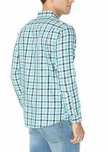 Amazon Essentials Men's Regular-Fit Long-Sleeve Plaid Two-Pocket Twill Shirt image 4