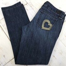 "Juicy Couture ""The Kate"" Skinny Straight Leg Stretch 34 x 30 Size 8 - $14.85"