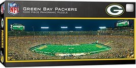 MasterPieces NFL Green Bay Packers Stadium Panoramic Jigsaw Puzzle, 1000 Pieces, - $19.89
