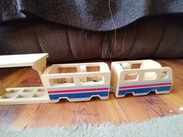 Melissa & Doug Whittle World Wooden Train Travel Set  - $10.00