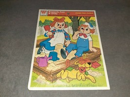 Whitman Frame-Tray Puzzle: Raggedy Ann & Andy [NEW & SEALED] NOS 1980 - $12.00