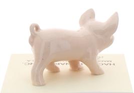 Hagen-Renaker Miniature Ceramic Pig Figurine Pink Piglet Standing image 3