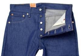 NEW LEVI'S 501 MEN'S ORIGINAL STRAIGHT LEG JEANS BUTTON FLY BLUE 501-1404 image 3