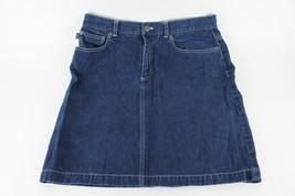 Ralph Lauren Jean Denim Skirt size 12 Pencil Straight - $9.87
