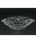 Fostoria Chintz Handled Serving Bowl, Vintage Elegant Etched Baroque 249... - $24.50