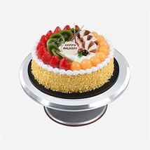 Aluminium Cake Turntable 12'' Revolving Rotating Cake Stand with Rubber ... - $71.78