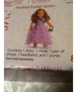 American Girl dress Frosted Violet Gown New Sealed Box Limited Edition 1... - $144.00
