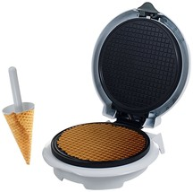 Chef Buddy 82-MM1234 Waffle Cone Maker Ice Cream Cone Form Peanut Butter... - $51.17 CAD