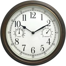 Westclox 33027 12 Indoor/Outdoor Wall Clock - $28.73
