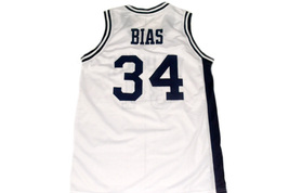 Len Bias #34 Wildcats High School Men Basketball Jersey White Any Size image 5