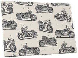 "Pingo World ""Motor Bike Collage Motorcycle"" Gallery Wrapped Canvas Wall Art 30""x - $53.95"