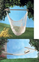 Double Person Hammock and Hammock Swing Chair Set - $72.22