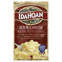 Idahoan Four Cheese Mashed, 4 oz Pouch - $2.25