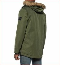 new INDUSTRY men coat parka jacket hooded insulated IF19J167 green sz XL... - $89.09