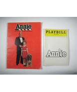 Annie Playbill from play and Annie Storybook based on movie 1982 - $19.79