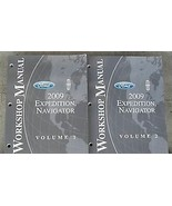 2009 FORD EXPEDITION & LINCOLN NAVIGATOR Repair Service Shop Manual Set ... - $89.09