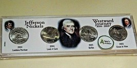 Jefferson Nickels Westward Journey Nickel Series™ 2004 D-2005 D  AA20-CNN7037