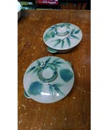 Vintage Pair of Japan Japanese Rice Bowls with Lids - $24.97