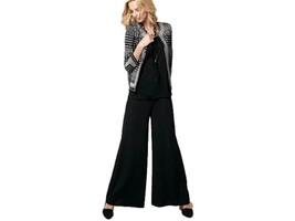 M MISSONI Italy PALAZZO Baggy LONG Pants WIDE LEG Trousers 6 $375 FREE S... - $299.97