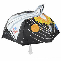 Space Ship Kids Umbrella Child's Umbrella Size 30 inch Birthday Gifts - $14.53