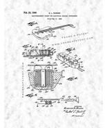 Electric Guitar Patent Print - Gunmetal - $7.95 - $40.95