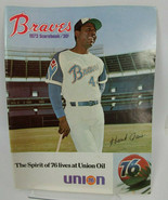 Atlanta Braves 1972 Scorebooks - $10.64