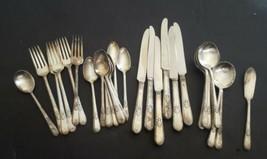 Antique Milwaukee Public Schools 12 DWT Silver Plate Gross Hardware Dinner Fork