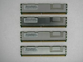 NOT FOR PC! 16GB 4x4GB PC2-5300 ECC FB-DIMM SERVER MEMORY for Intel S500... - $24.74